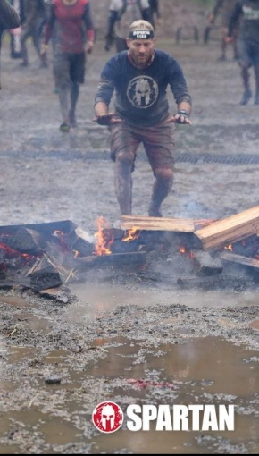 Spartan Super highlights. Mud and obstacles, like getting the car out of the mud after the race…